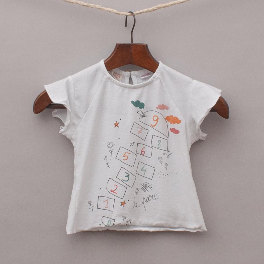 Zara Hop Scotch T-Shirt