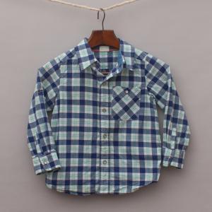 Milky Check Shirt