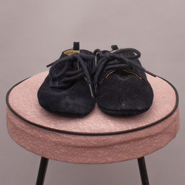 Purebaby Suede Shoes - 12-18 Mths