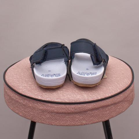 "Cotton On Blue Sandals - AU 5 ""Brand New"""