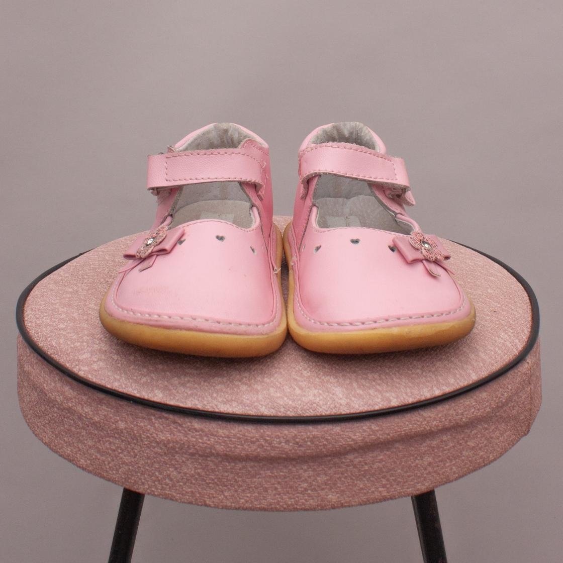 Pink Embellished Shoes - UK 6