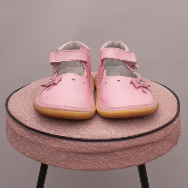 Pink Embellished Shoes - UK 6
