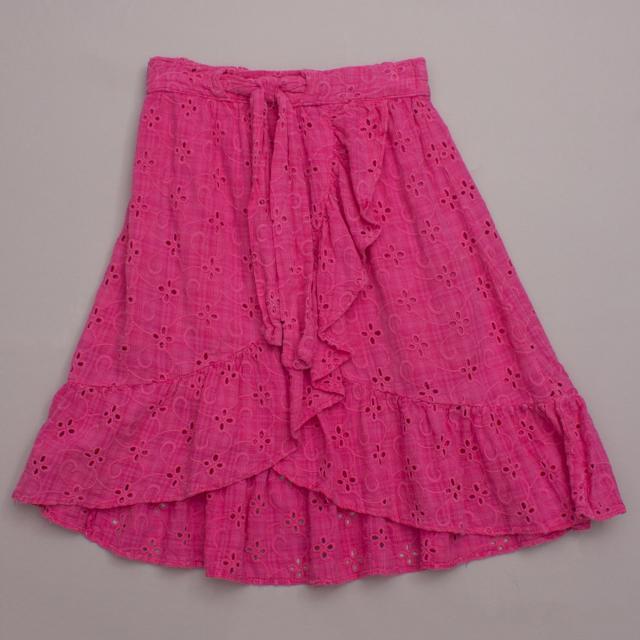 Zara Hot Pink Skirt