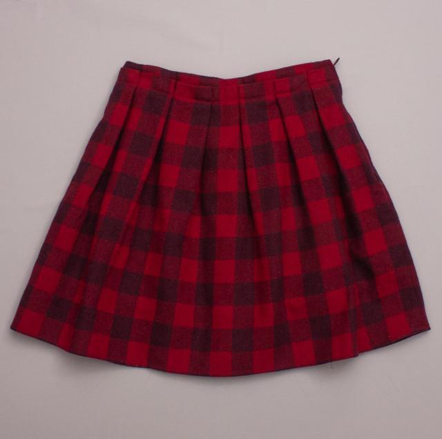 Jacadi Tartan Skirt