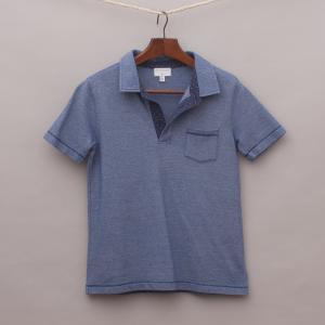 Witchery Blue Polo Shirt