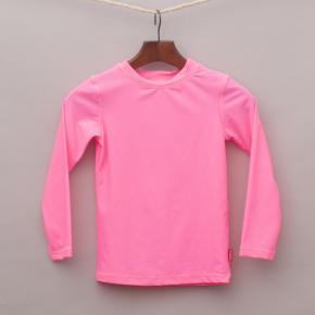 "Rhubarb Hot Pink Rash Vest ""Brand New"""