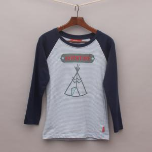 Rhubarb Tee Pee Long Sleeve Top