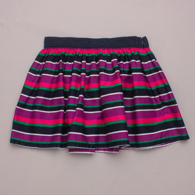 "United Colours of Benetton Striped Skirt ""Brand New"""
