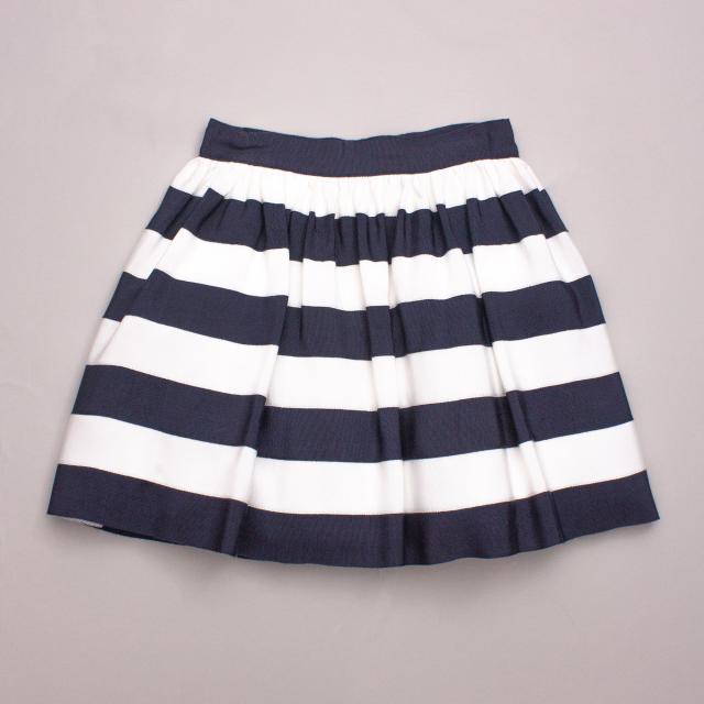 "Monnalisa Striped Skirt ""Brand New"""