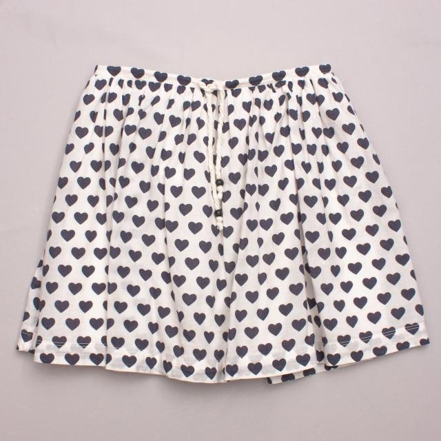 Country Road Heart Skirt