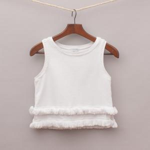 Witchery Cotton Fringe Top