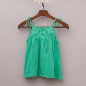 Country Road Green Singlet