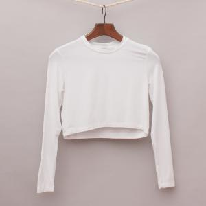 Witchery Cropped Long Sleeve