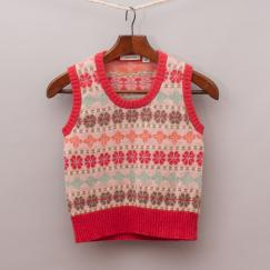 Country Road Patterned Vest