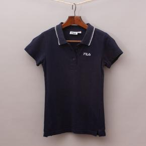 Fila Navy Blue Polo Shirt