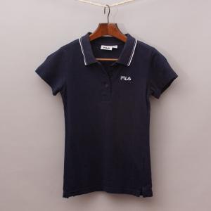 Fila Navy Blue Polo Shirt
