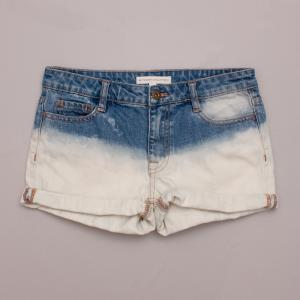 Witchery Ombre Denim Shorts