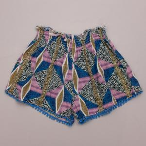 Seed Patterned Shorts