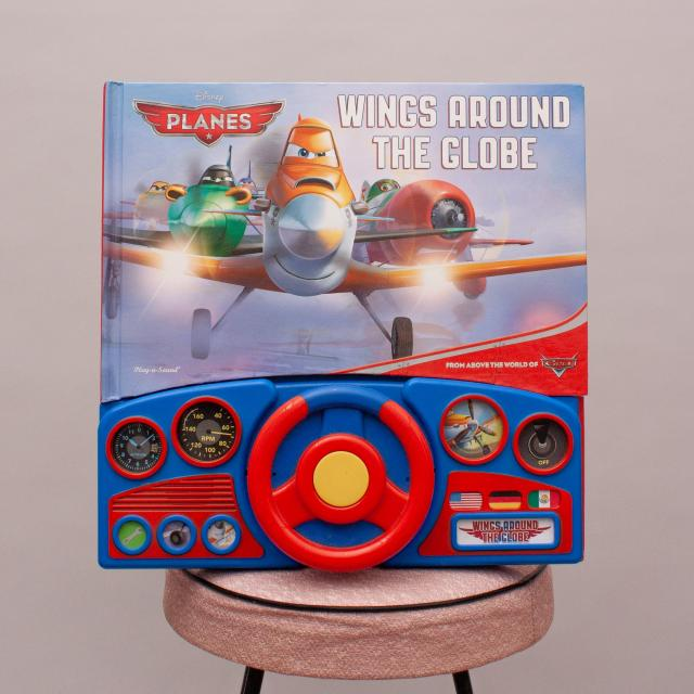 Disney Planes 'Wings Around the Globe' Book