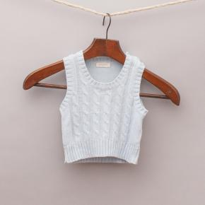 Purebaby Cable Knit Vest