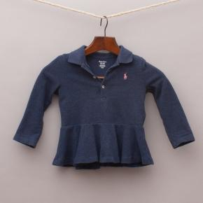 Ralph Lauren Navy Blue Long Sleeve