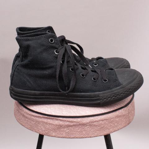 Converse Black Lace Ups - EU 35