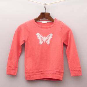 Purebaby Butterfly Jumper