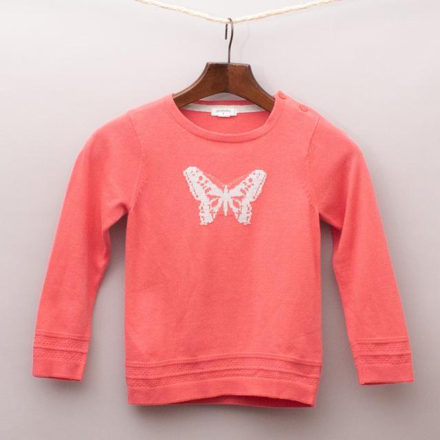 Purebaby Butterfly Jumper