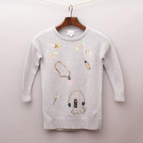 Seed Sequined Jumper