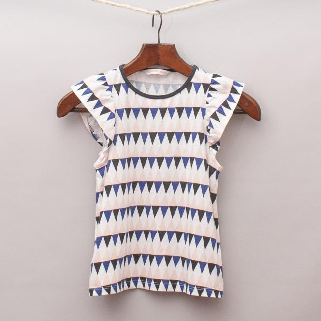 Country Road Geometric Top