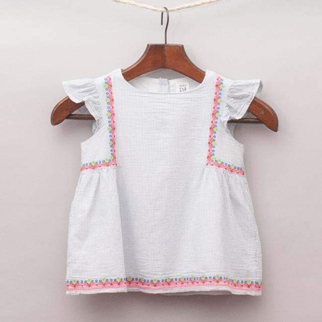 Gap Embroidered Top