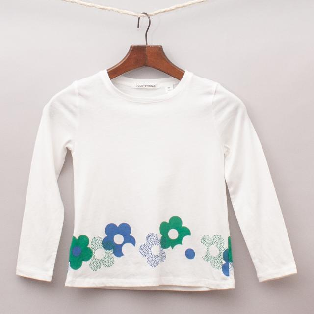 Country Road Floral Long Sleeve