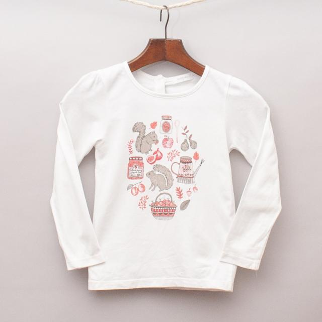 Purebaby Squirrel Long Sleeve