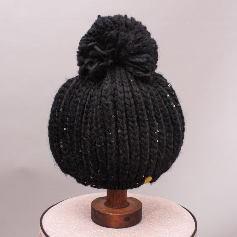 Rock Your Kids Black Beanie - OS