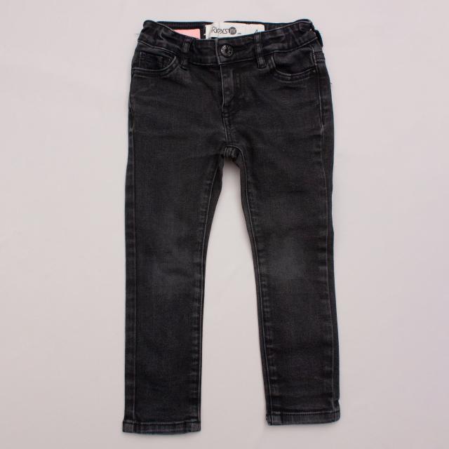 Riders Black Jeans