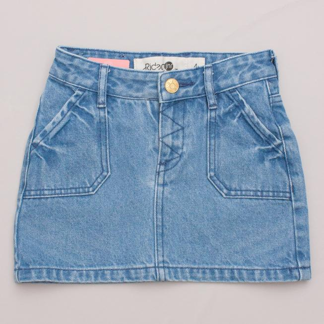 Riders Denim Skirt