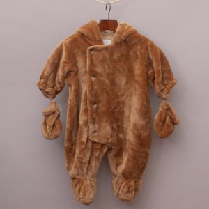 """Baby Luxuries Fluffy Romper Suit """"Brand New"""""""