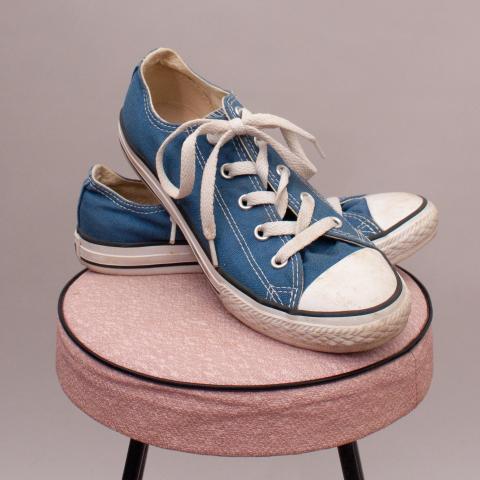 Converse Blue Lace Ups - EU 35