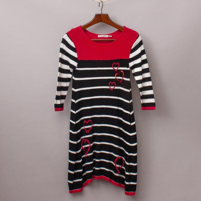 Deux par Deux Striped Dress