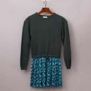 CdeC Green Jumper Dress