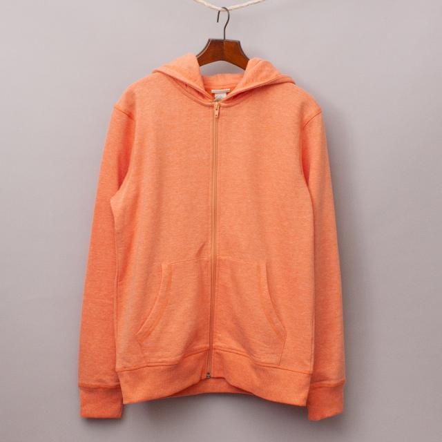 "H&M Orange Hooded Jumper ""Brand New"""