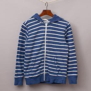 H&M Striped Hooded Jumper
