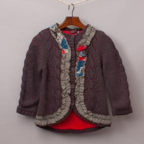 "Catimini Embellished Cardigan ""Brand New"""