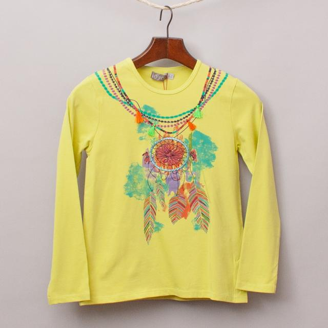 "Boboli Embroidered Long Sleeve ""Brand New"""