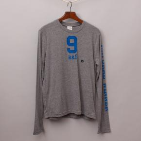 "Abercrombie Grey Long Sleeve ""Brand New"""