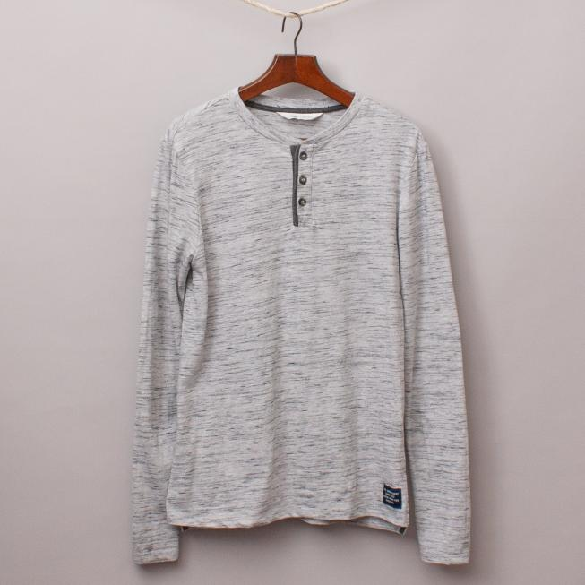 Zara Grey Long Sleeve