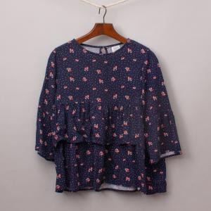 Seed Cherry Smock Top