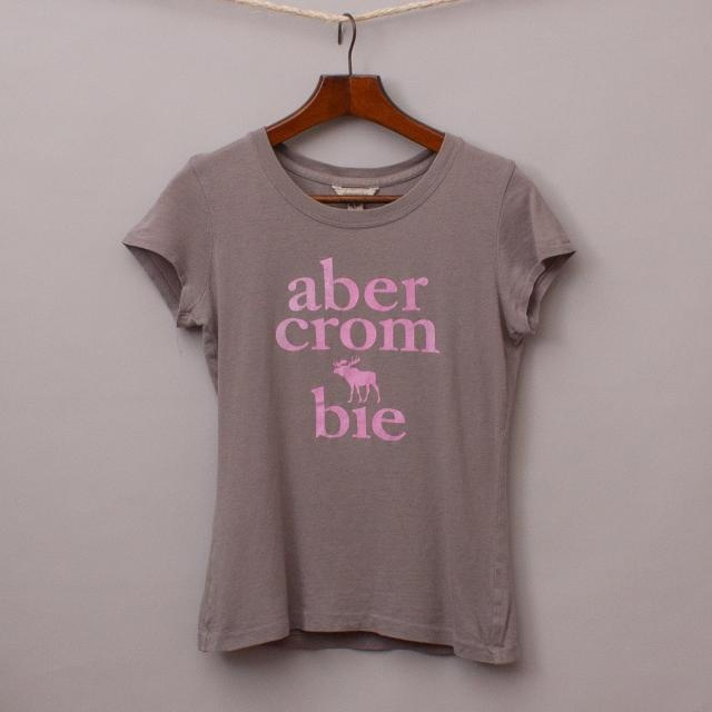 Abercrombie Grey T-Shirt