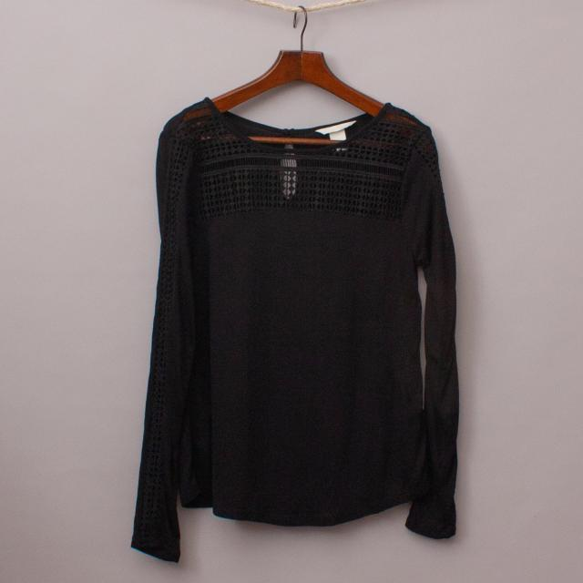 H&M Detailed Top