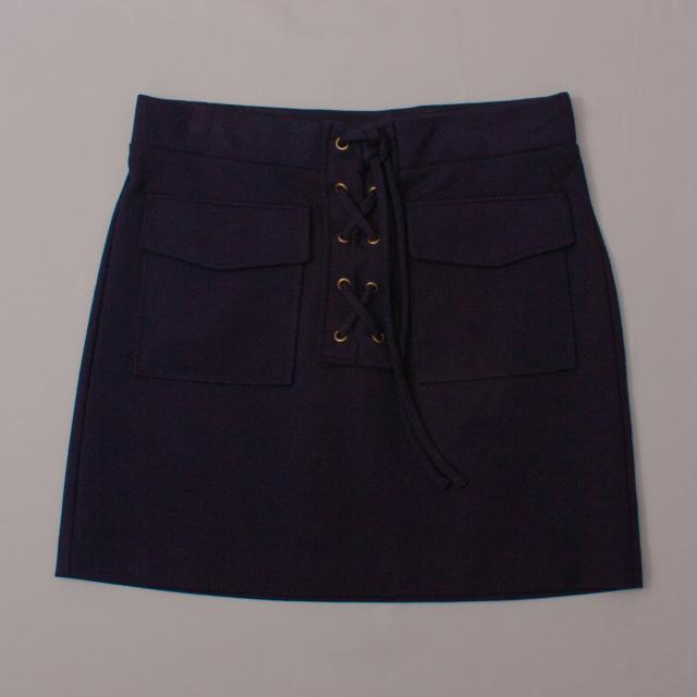 Witchery Lace Up Skirt